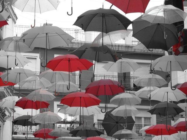 Let It Rain Umbrella Art Umbrella Under My Umbrella
