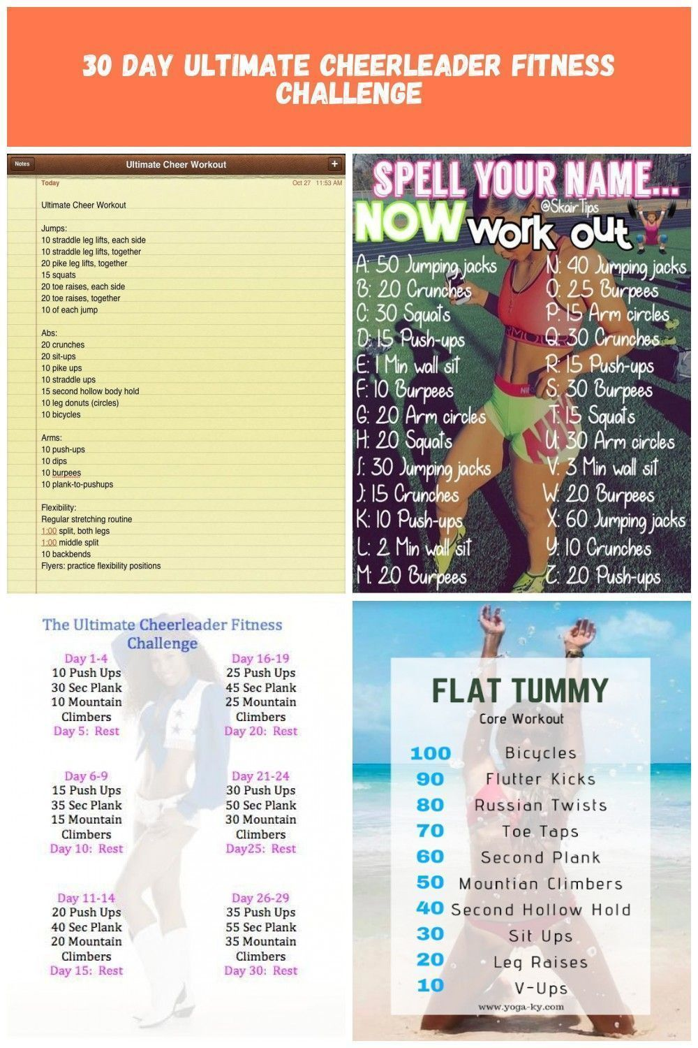 Ultimate Cheer Workout Cheer Cheerleading Cheerleader Fitnessroutine Cheer Workouts Cheerworkouts Ul Cheer Workouts One Song Workouts Cheer Athletics Abs