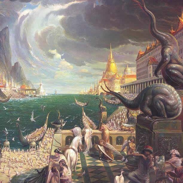 Prateep Kochabua pinturas surrealismo (12)