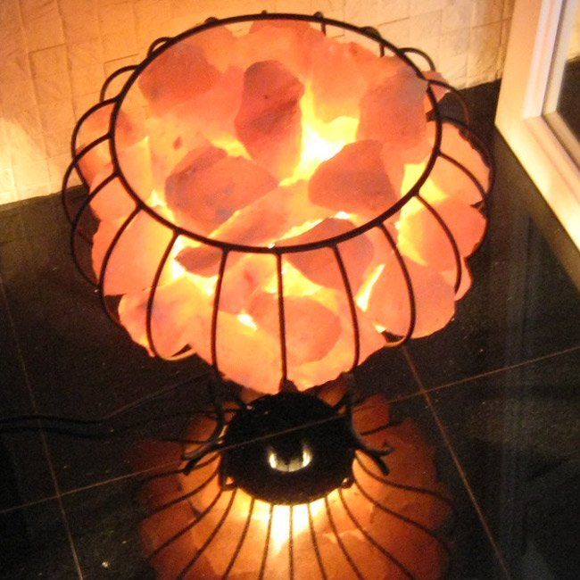 Salt Lamp Purpose Interesting Himalayan Salt Lamp  Fire Bowlperfect For Winter  So Warming And Review