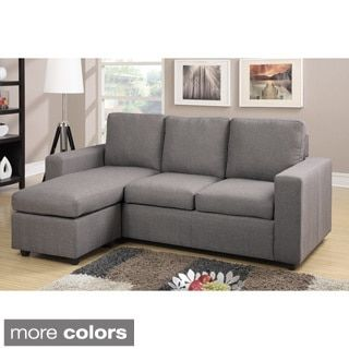 Aspen Convertible Sectional Storage Sofa Bed Brown Leather Recliner Set Ash Overstock Com Shopping The Best Deals On Sofas