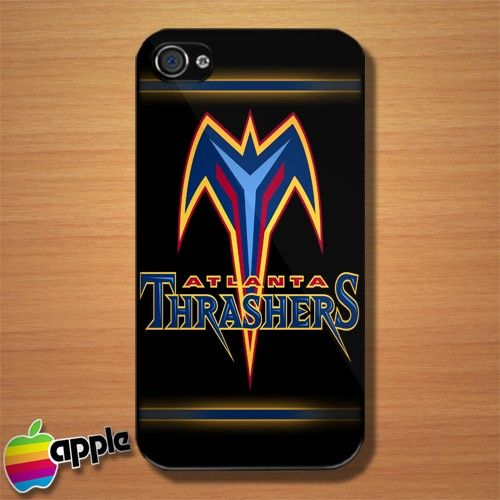 Atlanta Thrasers NHL Logo iPhone 4 or 4S Case
