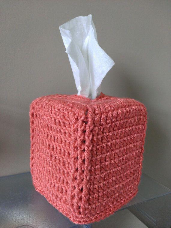 Free Crochet Pattern Square Tissue Box Cover Crochet