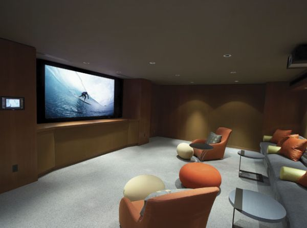 35 modern media room designs that will blow you away homey home rh pinterest com