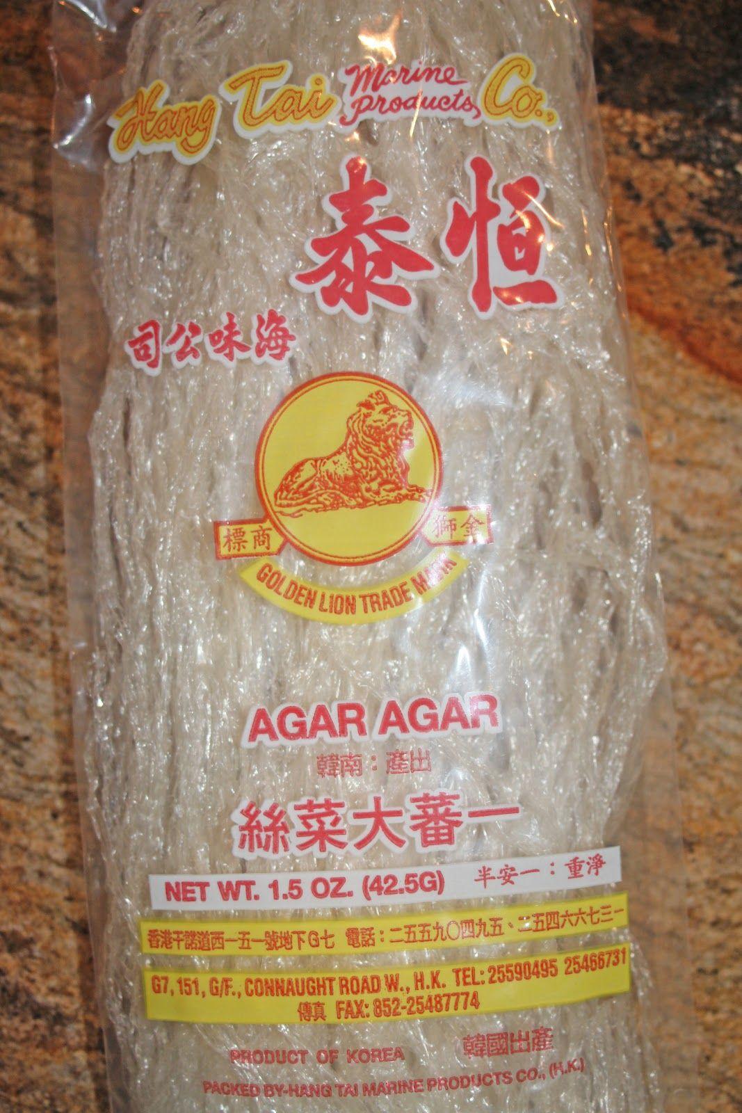 Agar-Agar has a mixture of two polysaccharides namely agarose and agaropectin.