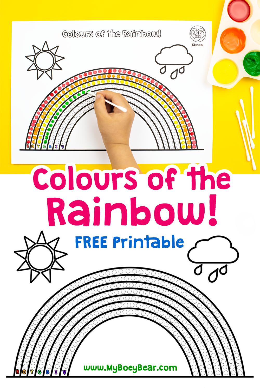 Rainbows For Kids Nhs Rainbow Rainbows For Windows Boey Bear Printable Activities For Kids Kids Coping Skills Rainbow Kids [ 1500 x 1000 Pixel ]
