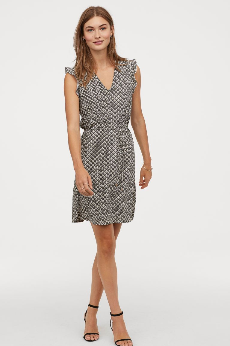 Taylor Dresses Womens Empire Multi Seamed Printed Dress