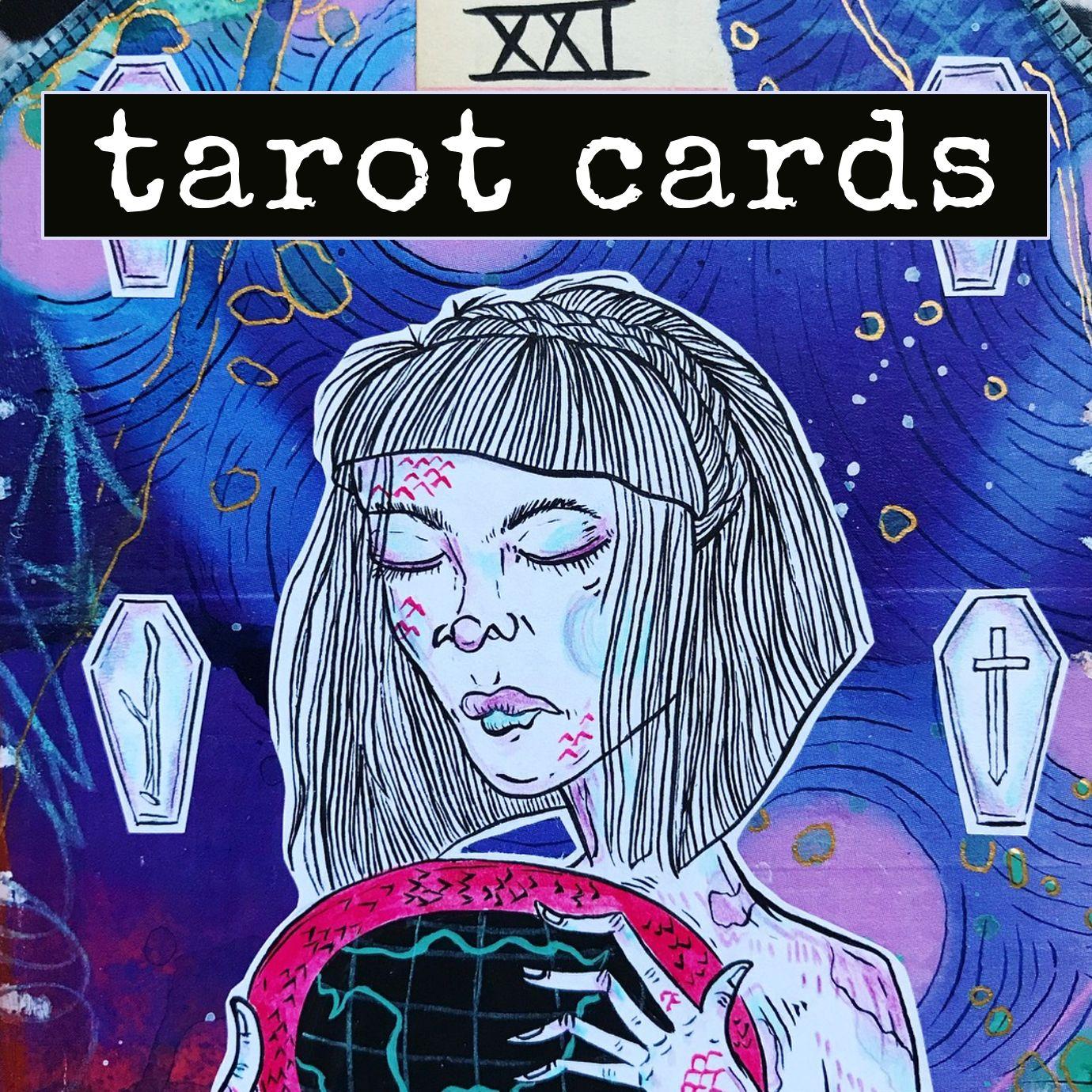 Tarot Deck From Artist Roxanne Coble (aka BY BUN!)
