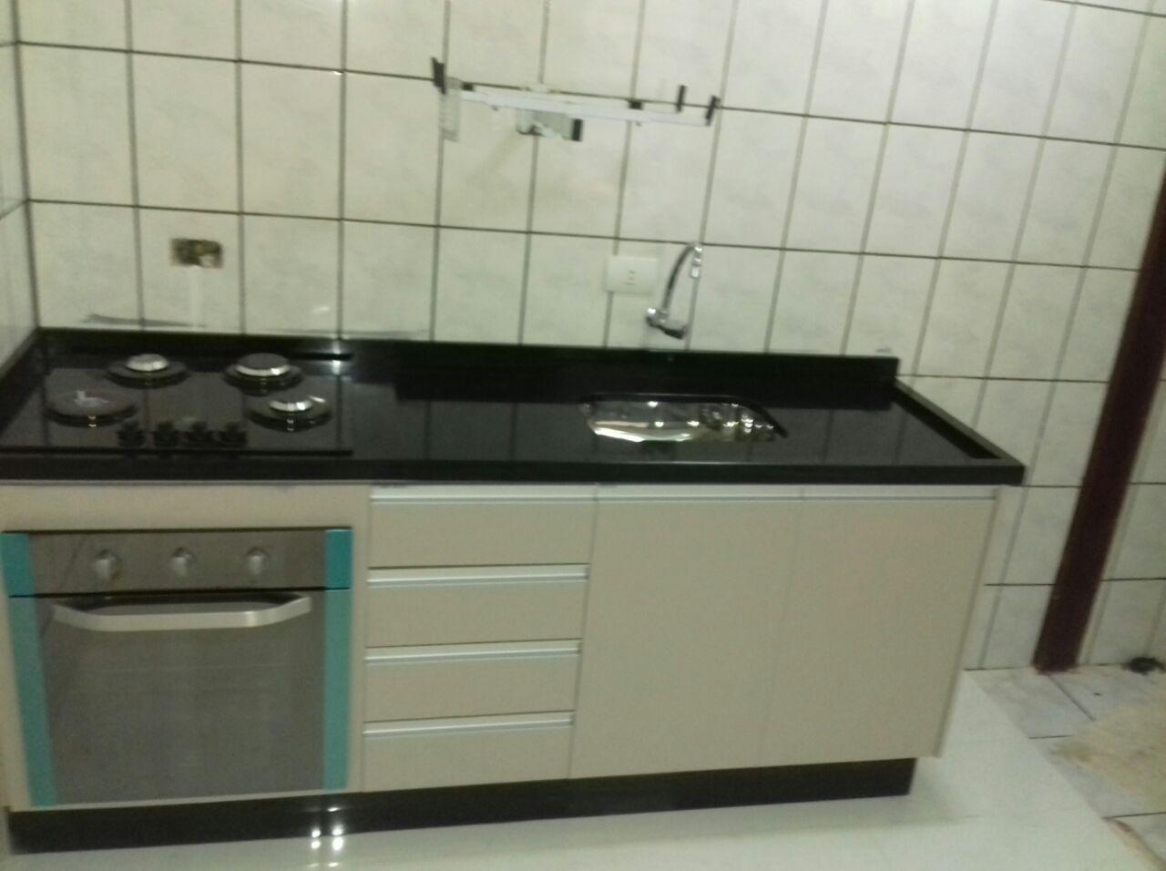 Gabinete Com Forno De Embutir E Cooktop Forno Embutido Cozinha