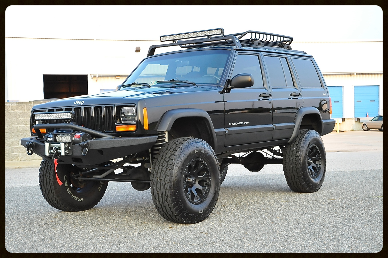 This Cherokee Sport Has Our Stage 5 Package Full Rubicon Express