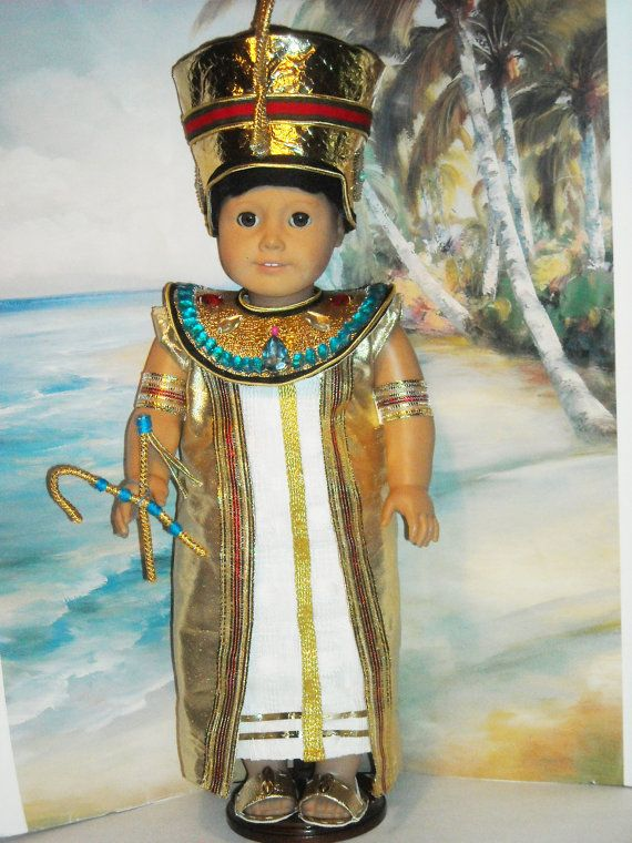 Egyptian Pharaoh Boy Doll Clothes American Girl Girl