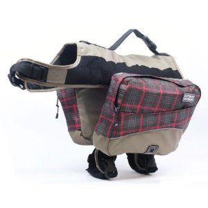 Kyjen Outward Hound Excursion Dog Backpack Large Plaid 23 99