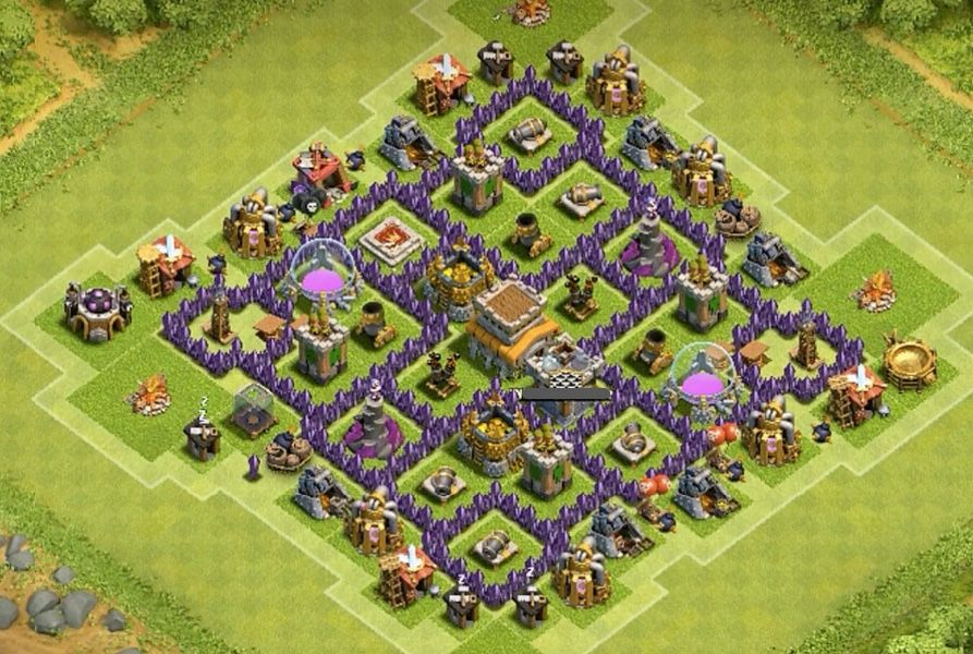 9 Anti Air Base Designs For 2015 And 7 Things To Harden Your Base Clash Of Clans Clash Of Clans Levels Clash Of Clans Hack