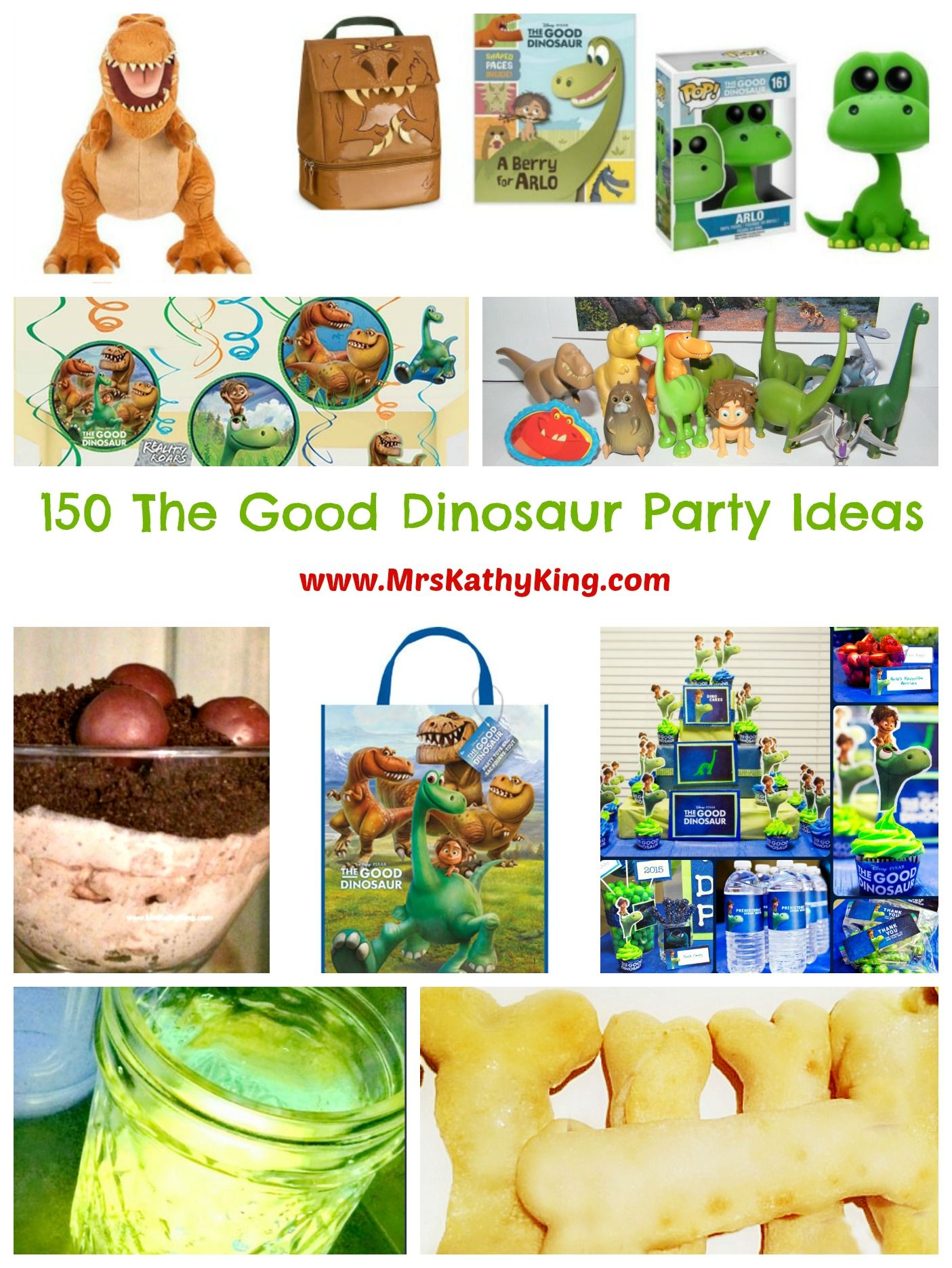 Looking For The Good Dinosaur Party Ideas Heres 150