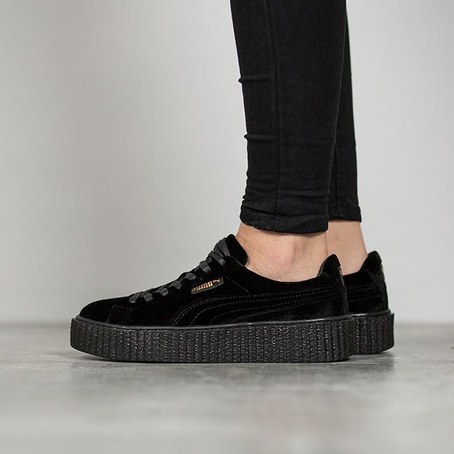 the best attitude ab1e1 d6bf3 Schuhe Puma Creeper Velvet x Fenty by Rihanna ,Black,364466 ...