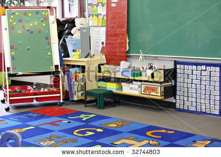 Prek Classroom Clipart Kindergarten Preschool Classroom
