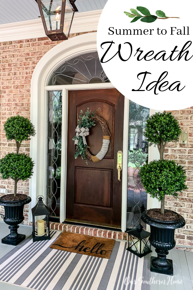 ☝ Awe-inspiring Southern Front Porch Fall To Bring Unique Look #fallfrontporchdecor
