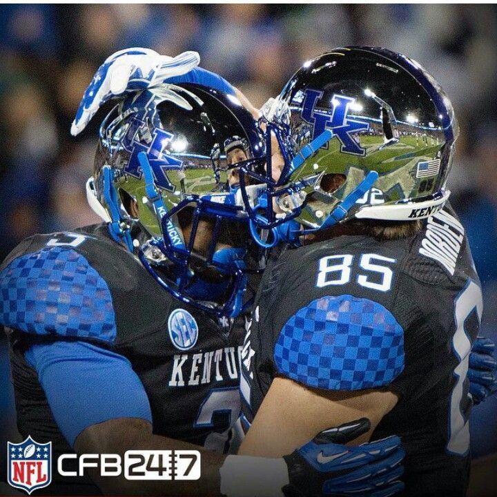 Blue Chrome Football Helmet Kentucky chrome helmets ...