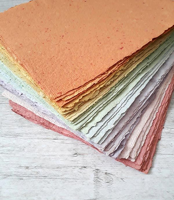 DIY: how to create handmade recycled paper | Veraviglie