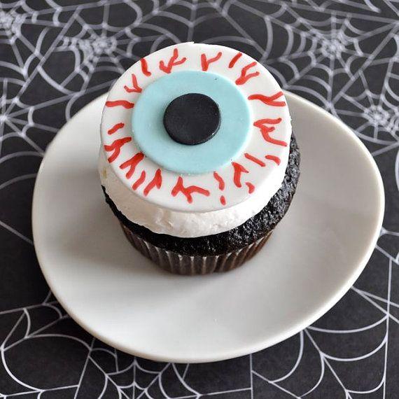 Pin by Trisha Shamp on cupcake topper ideas Pinterest Fondant - cake decorations for halloween