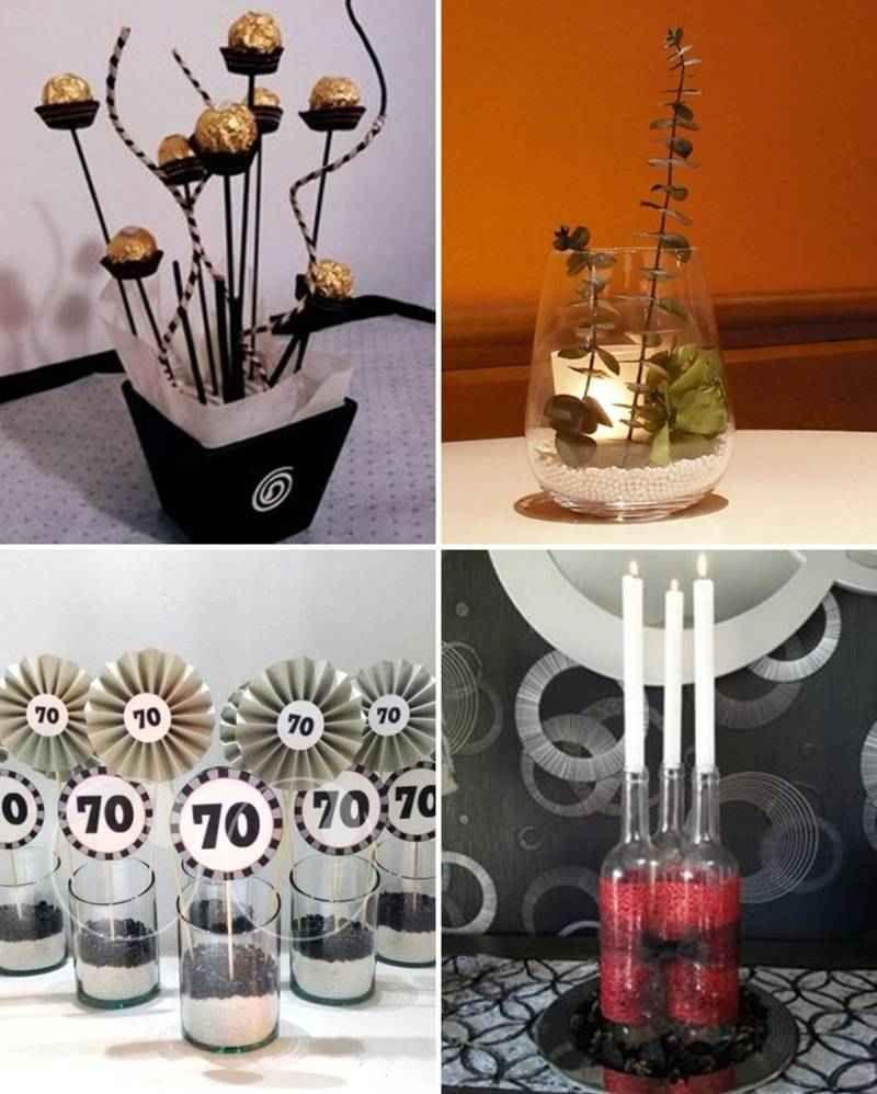 Centros de mesa para hombres 2 tile decoraciones - Decoracion mesa cumpleanos ...