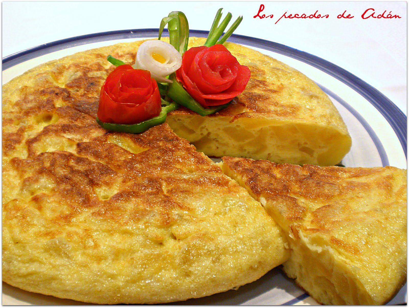 Tortilla de patata | Tortilla Española | Pinterest ...