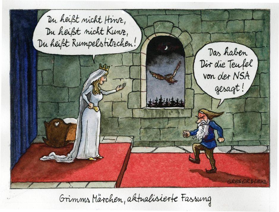 Greser & Lenz: Witze für Deutschland - Fraktur - FAZ