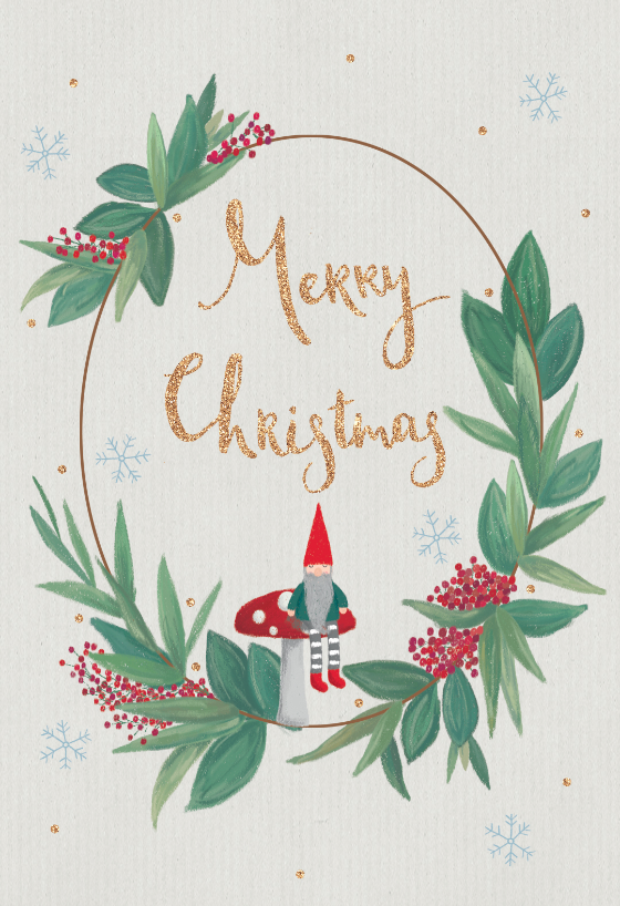 Cute Gnome Christmas Card Free Greetings Island Christmas Cards Free Christmas Card Online Free Online Christmas Cards
