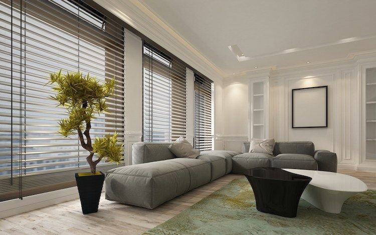 Bon Store Pour Baie Vitree Venitien Moderne Deco Zen #interiordesign  #windowshades Galerie