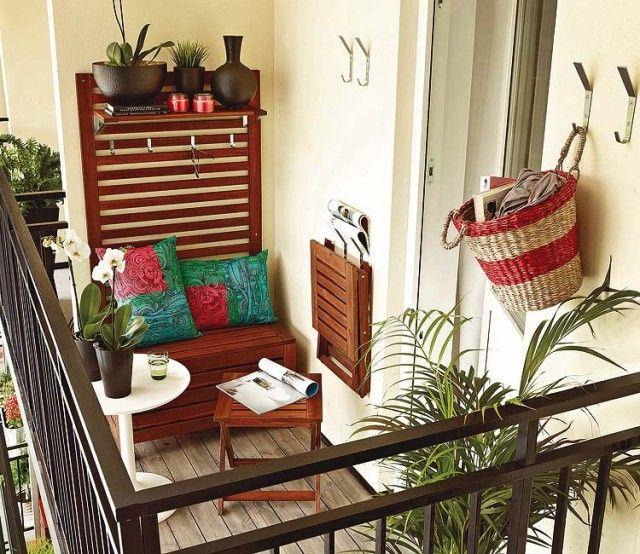 Decocasa en Colombia » Ideas para balcones pequeños