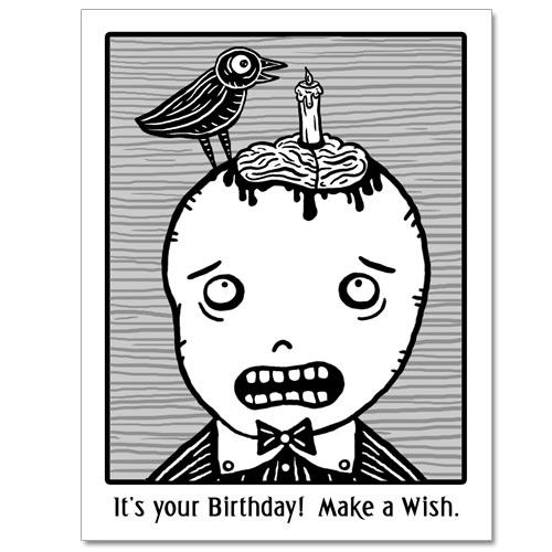 Zombie brains birthday gingerdead goth and alternative cards by zombie brains birthday gingerdead goth and alternative cards by calan ree bookmarktalkfo Gallery