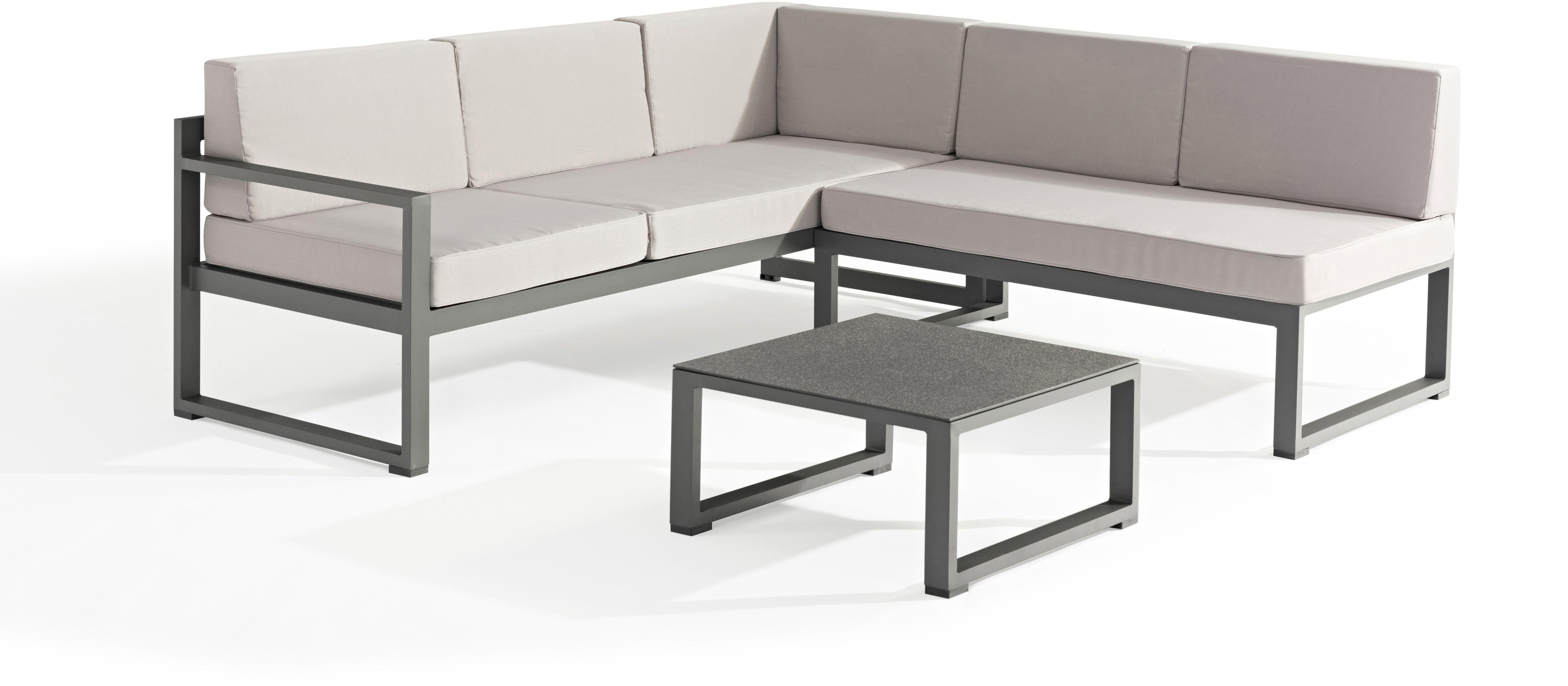 Salon De Jardin Relax Aluminium Delorm Gris Mobilier Design Decoration Design Mobilier