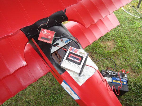 Triplane Charging batteries