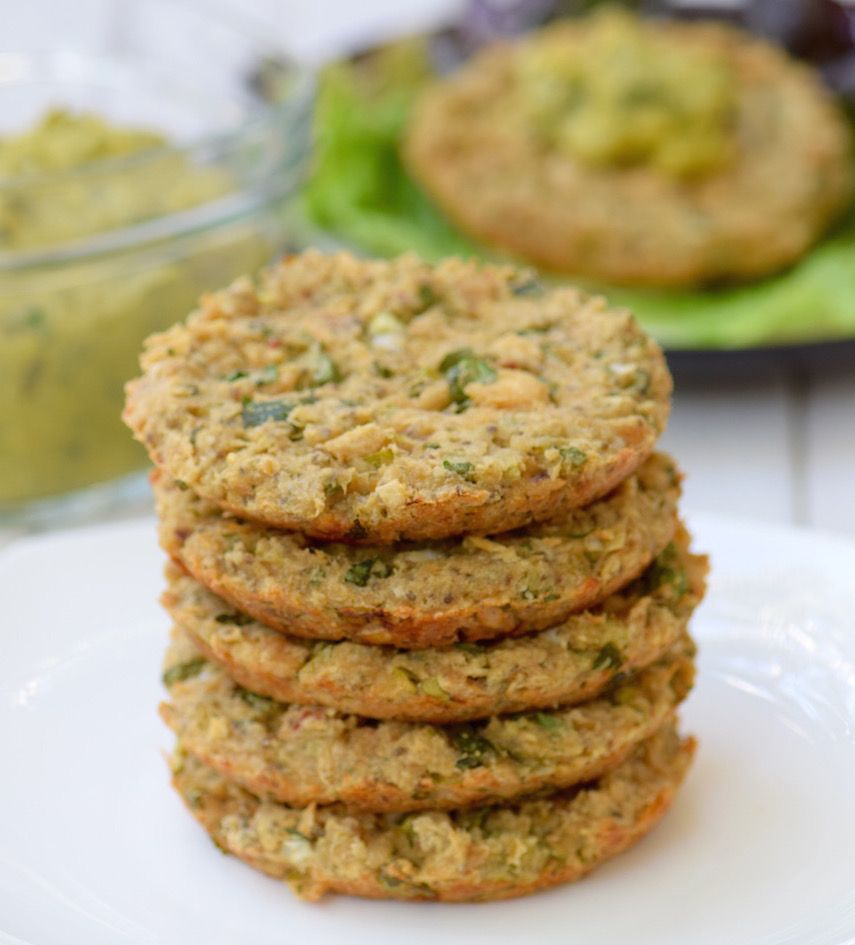 White Bean Tuna Patty - gluten free, dairy free and delicious | Tasting Page