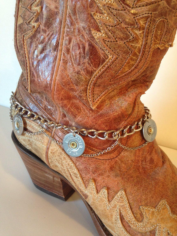 4f3117115c740 20 Gauge Shotgun Shell Boot Bracelet, Women's accessories ...