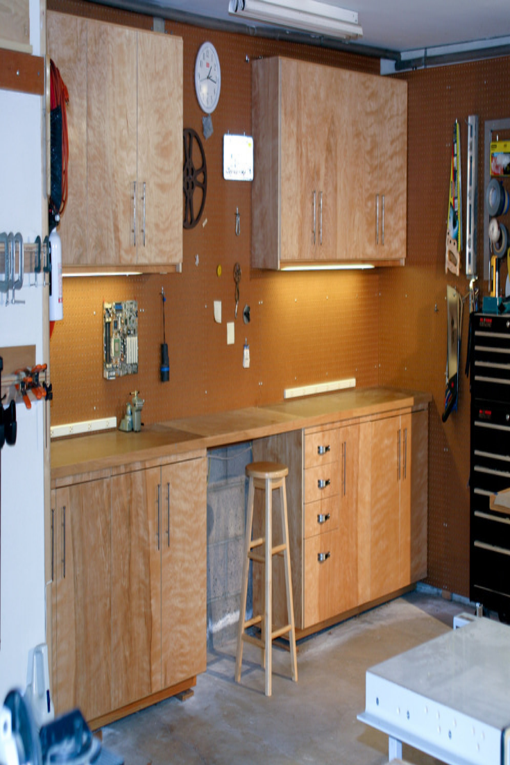 Garage Cabinet Plans Garage Cabinets In 2019 Task Lighting Garage Storage Cabinets