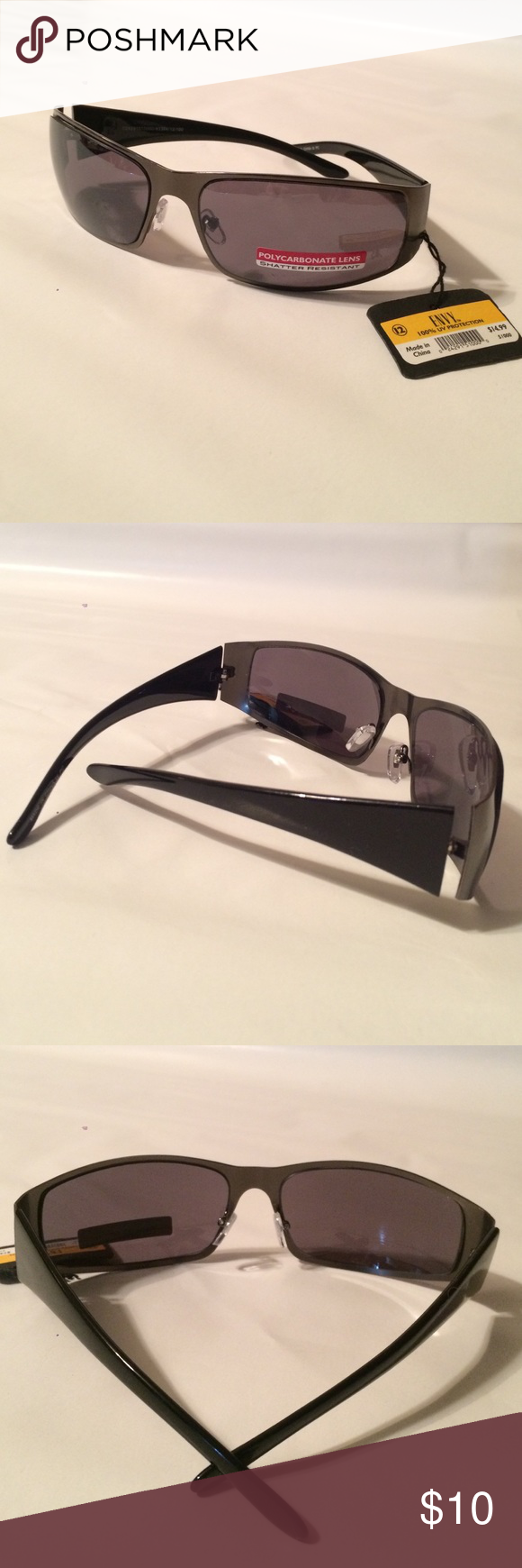 Envy Sunglasses NEW Men's Envy men's sunglasses - NWT - Polycarbonate Lens / Shatter resistant - 100% UV protection. THANKS FOR LOOKING! I do take offers! SAVE ON SHIPPING & bundle 💝 Envy Accessories Glasses