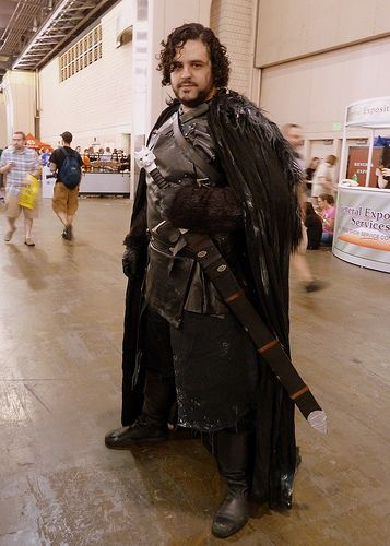 Do it yourself and show off your creative side with this diy jon do it yourself and show off your creative side with this diy jon snow costume project a great choice for halloween and cosplay conventions solutioingenieria Gallery
