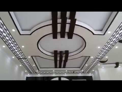 Model Plafond Platre Moderne ديكورات جبس أسقف صالات وغرف جديدة Youtube House Ceiling Design Ceiling Design Drawing Room Ceiling Design