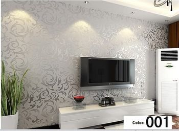 Exceptionnel Modern Background Vinyl Wallpaper For Living Room Gold And Home