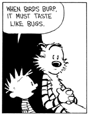 Hobbes Deep - When birds burp, it must taste like bugs