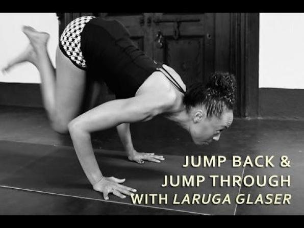 Jumpback and Jumpthrough (Ashtanga Yoga) with Laruga Glaser - YouTube #yoga #ashtanga #yoga