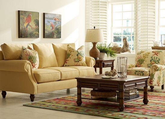 Havertys furniture this is my living room set it is absolutely beautiful walls painted light for Living room furniture havertys