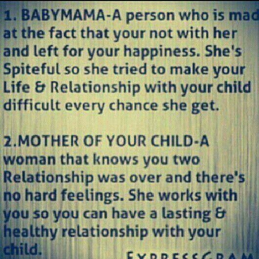 Baby mama quote