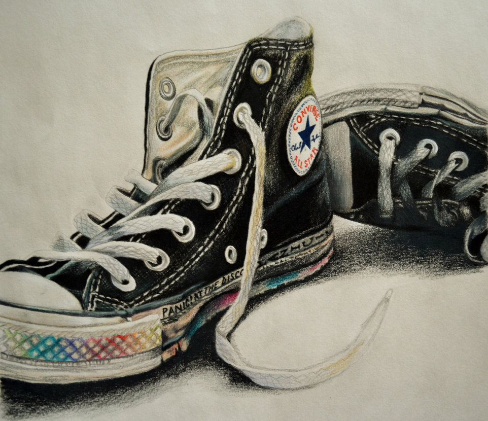 Converse Shoe Sketch at | Explore