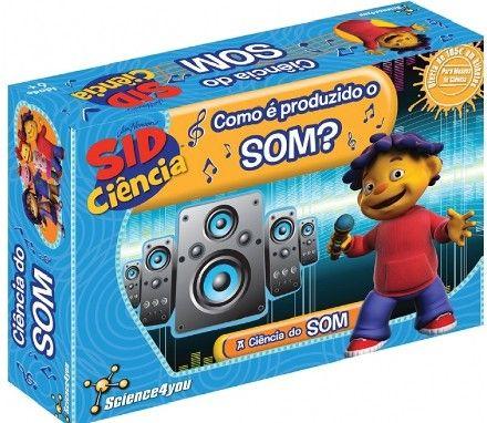 Como é produzido o som - Sid Ciência. Science4You