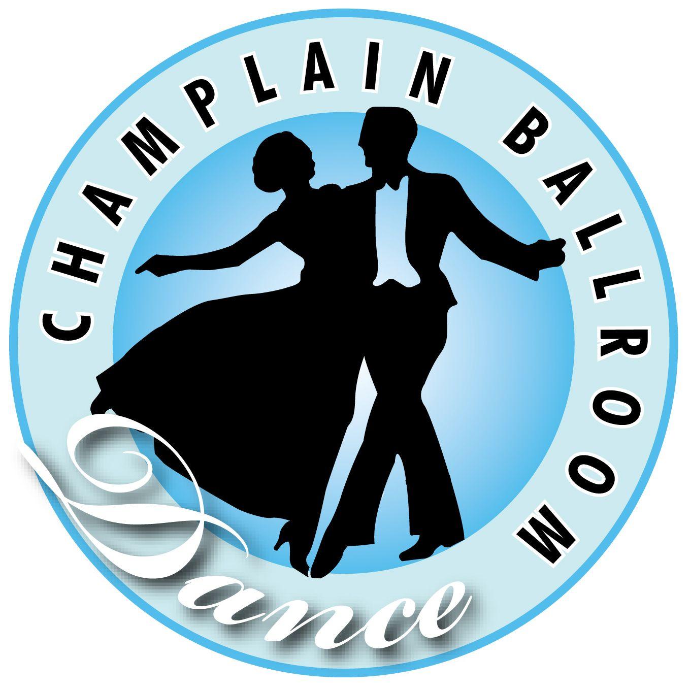 Champlain Ballroom Dance Studio logo (With images