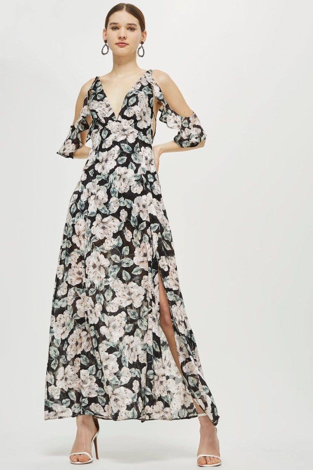 12 Long Floral Dresses To Wear This Summer Society19 Uk Wedding Guest Dress Trends Affordable Bridesmaid Dresses Wedding Guest Dress Summer [ 1509 x 1005 Pixel ]