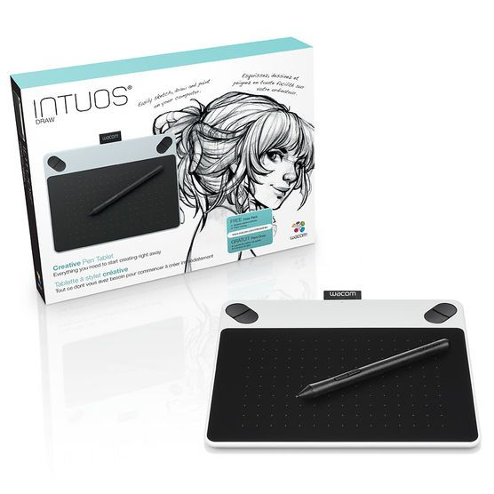 Wacom Intuos Draw Usb Pen Tablet Small With Images Wacom
