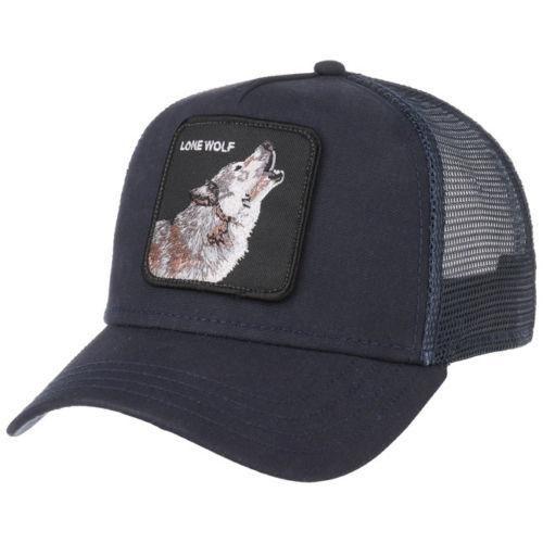 78138a3106609f Goorin Bros. Lone Wolf Trucker Adjustable Snapback Mesh Hat Dad Cap Animal  Farm